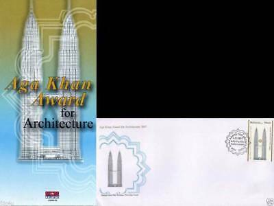Malaysia Fdc 2007 First Day Brochure Aga Khan Award For Architecture