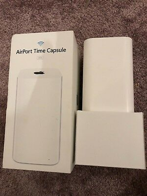 APPLE AirPort Time Capsule WiFi Cable & Fibre Router - 3 TB