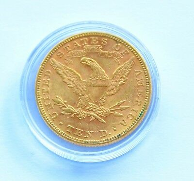 USA 10 Dollar 1882 Gold –  Eagle, Liberty Head, Coronet Head