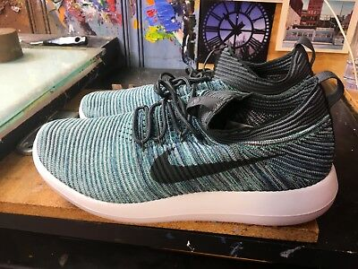 dafcebea2e8e Nike Roshe Two Flyknit V2 Green Abyss Mica Blue Size US 10 Men s 918263 300