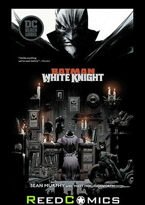 BATMAN WHITE KNIGHT GRAPHIC NOVEL New Paperback Collects 8 Part Series