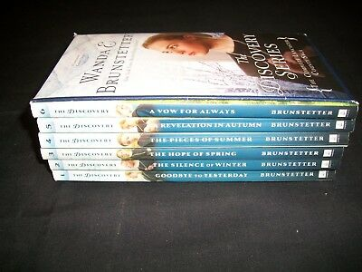 Lot of 6 Wanda Brunstetter Books, Complete Lancaster County Saga