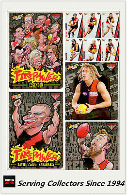 AFL Trading Card Master Team Collection-ESSENDON-2015 Select AFL Champions