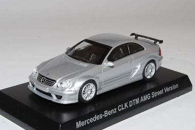 Mercedes-Benz CLK DTM AMG Street VeRSion Coupe Silber C209 2002-2010 1/64 Kyos..
