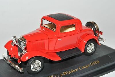 Ford V8 Convertible Cabrio Rot 1937 1//43 Yatming Modell Auto mit oder ohne ind..