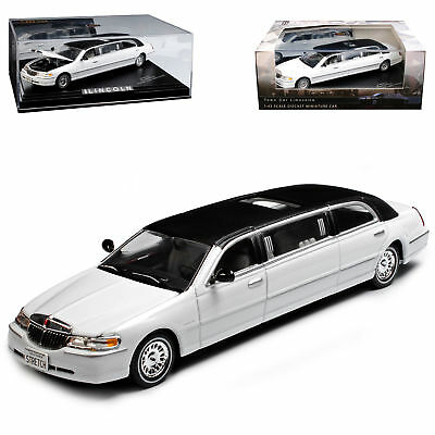 Lincoln Town Car Weiss Schwarzes Dach Stretch Limousine 1/43 Vitesse Modell Au..