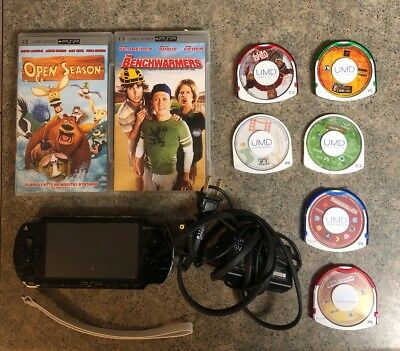 PSP 1001 Bundle With 2gb Memory Card 3 Games 4 Movies A Demo