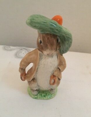 Royal Doulton Benjamin Bunny Figurine England Beatrix Potter Rabbit 1948 Beswick