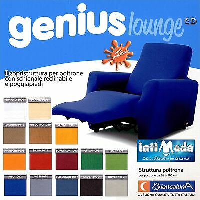 Armchair Cover for Chairs Reclining Relax Genius Lounge Slip-Cover 1 Place