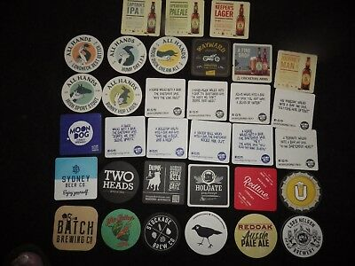 33 Recent Release Microbrewery Beer Coasters