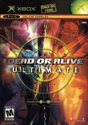 Dead or Alive Ultimate - Original Xbox Game