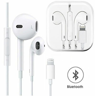 Wired Bluetooth Earbuds Headphones Headsets In-ear for Apple iPhone X XS 8 plus