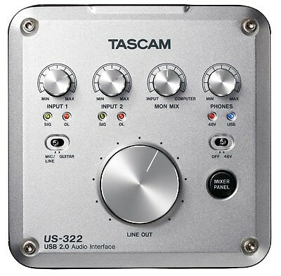 Tascam US-322 Audio Interface