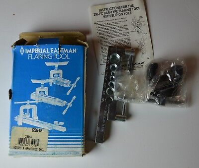 """NEW Imperial Eastman 45 Degree Flaring Tool 296-FC 3/16"""" to 5/8"""" made in USA"""