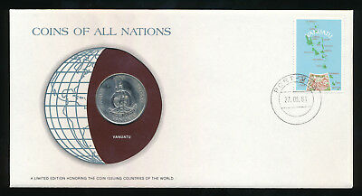 Vanuatu Coins of All Nations 20 Vatu 1983 UNC /BU  Coin