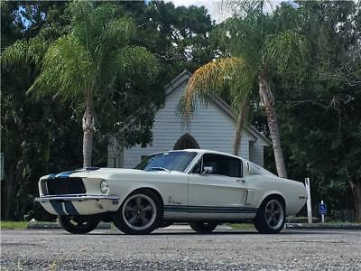 "1968 Ford Mustang -- 1968 Ford Mustang Fastback ""J"" Code 302 Restomod 5-Speed Tremec RARE Eleanor"