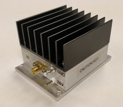 New, 5 W, 10 MHz to 1200 MHz , 42 dB Gain,  Broadband RF Power Amplifier