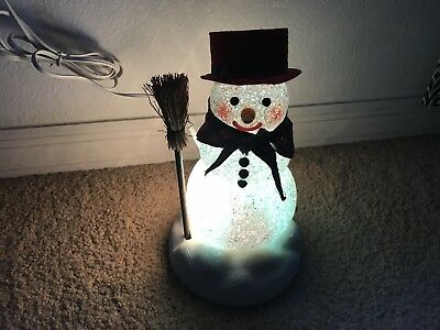 Chilly Samantha Light Up Snowman-Avon The Gift Collection-Christmas