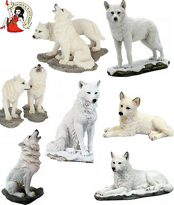 NEMESIS NOW WOLF ORNAMENT figurine GIFT storms cry pup ghost shadow spirit chase