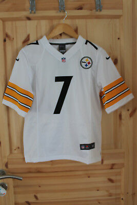NFL Football Trikot Pittsburgh Steelers 7 Ben Roethlisberger Size S youth