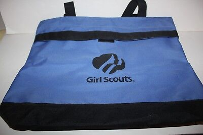 Girl Scouts Leader's Tote Bag - Blue & Black - New