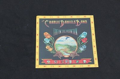 Charlie Daniels Band, Fire On The Mountain,vintage Music Sticker, New/ Mint Cond
