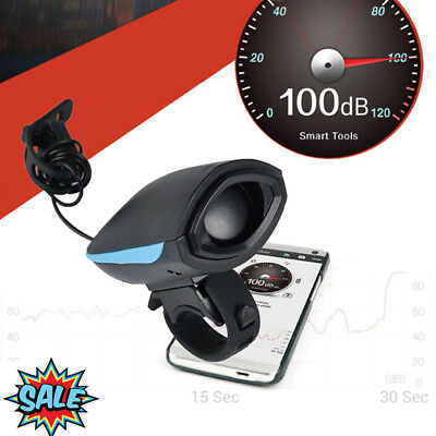 USB Rechargeable Bike Bicycle Horn Mountain Bike Bicycle Horn Bell Speaker 2Mode
