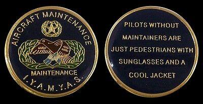 Us Air Force Aircraft Maintenance Challenge Coin Military Coins New