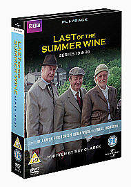 Last Of The Summer Wine - Series 19-20 - Complete (DVD, 2011, 4-Disc Set)