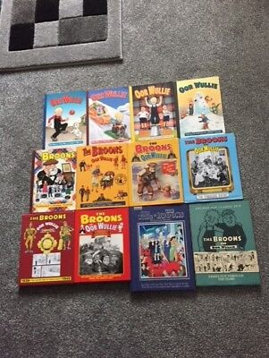 Collection of The Broons & Oor Wullie Annuals