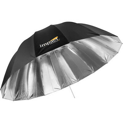 """OPEN BOX Impact X-Large Improved Deep Silver Umbrella 65"""" Photography"""