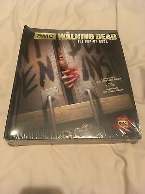 Brand New & Sealed Us Import Of The Walking Dead Hardback Pop-Up Book