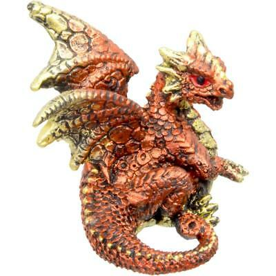 Copper Color Dragon Figurine!