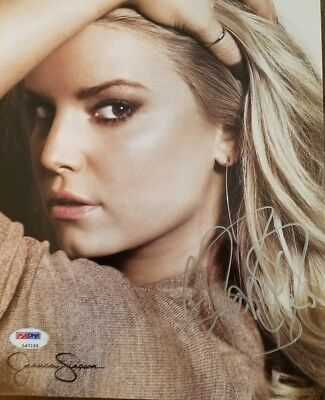 Jessica Simpson signed 8x10 Authentic Autograph PSA/DNA stamped
