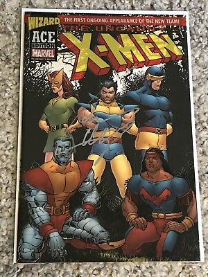 Uncanny X-Men 94 Wizard Ace Edition NM Acetate Cover SIGNED W/COA