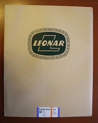 Leonar Leigrano H 118 - 24x30 10 sheets (sealed & unopened) - #1