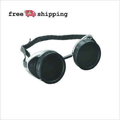 STEAM PUNK Goggles Brazing Cup-Style Safety Glasses Welding Sunglasses Costume
