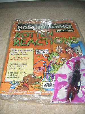 NOS new Horrible Science mag 9 rotten reactions + cards school homework bbc tv