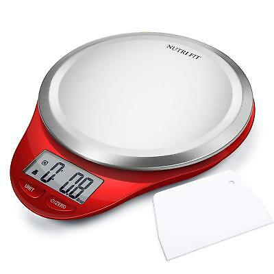 Digital Electric Kitchen Food Scale High Accuracy Precision Multifunction 11lb