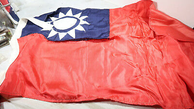 g WWII Chinese National Flag 30 x 18 inches