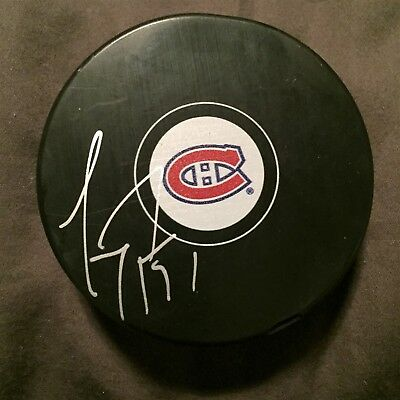 Carey Price Montreal Canadiens Signed NHL Puck