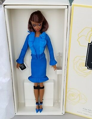 Barbie Fashion Model City Chic Suit Gold Label African American Barbie Doll