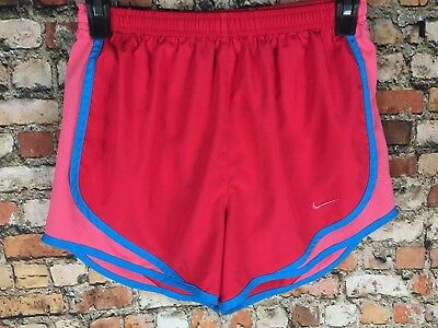 NIKE Dri-FIT Tempo Running Shorts in Pink & Blue Jogging Swoosh Womans NEW XS