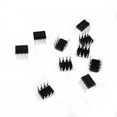 10PCS LM386 LM386N DIP-8 Audio Power AMPLIFIER IC Great Qualtiy QX
