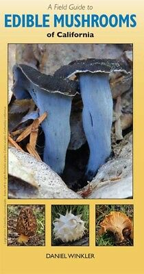 Field Guide to Edible Mushrooms of California - fold-out by Daniel Winkler