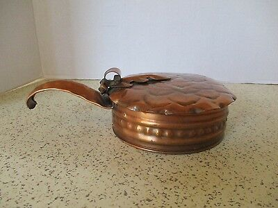 Arts & Crafts Style Gregorian Hammered Copper, Silent Butler, Classic Design