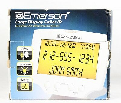 Emerson Large Display Caller ID EM60 for Home Phone Telephone BRAND NEW
