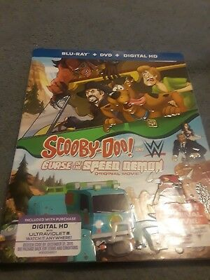 Scooby Doo And Wwe Curse Of The Speed Demon Slipcover Only