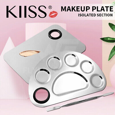 Stainless Steel Cosmetic Face Makeup Palette Spatula Foundation Mixing Tool