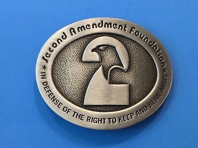 2nd Amendment Constitution Foundation - Right to keep and bear arms Belt Buckle